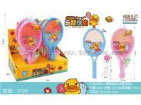 小黄鸭球拍展示盒(标配双球)