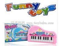 婴幼儿创意玩具音乐琴 益智早教电子琴乐器 儿童钢琴玩具热卖批发
