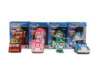 新款POLI托宝TOBOT变形战队机器人 poli变形机器人 4款混装玩具巴巴83168