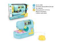 电动缝纫机带灯光 过家家玩具