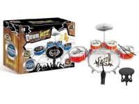 喷漆爵士鼓带椅男孩乐器玩具