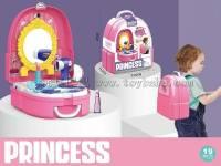 儿童化妆台护理背包女孩过家家玩具,单色装,不混色