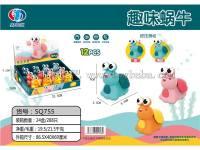趣味蜗牛手压玩具