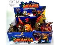 搪胶带哨子恐龙动物模型玩具
