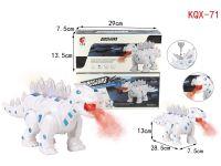 电动恐龙-机甲剑龙(带喷雾功能)