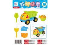 沙滩玩具小鸡沙滩车6件套
