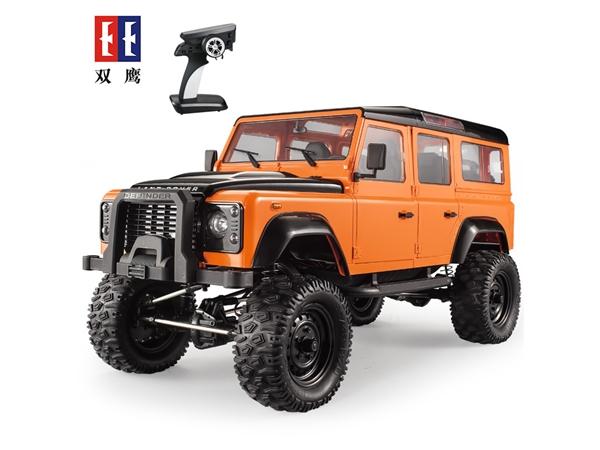 1:8路虎卫士五门攀爬模型车遥控车