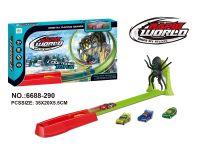 蜘蛛弹射轨道玩具车