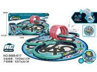 遥控轨道车地毯收纳袋玩具车