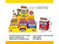 厂家直销 热销装糖产品 装糖趣味老虎机糖果玩具趣味糖玩食玩 装糖玩具 CJ-1505792