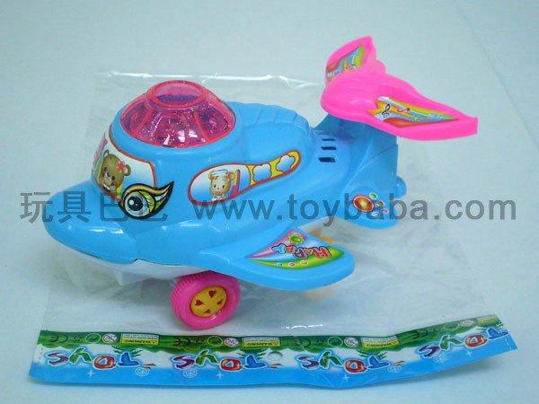 拉线灯光海豚飞机
