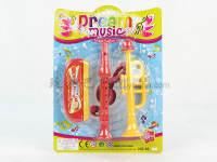 口琴+笛子+小吹号