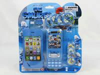 蓝精灵苹果手机配手机