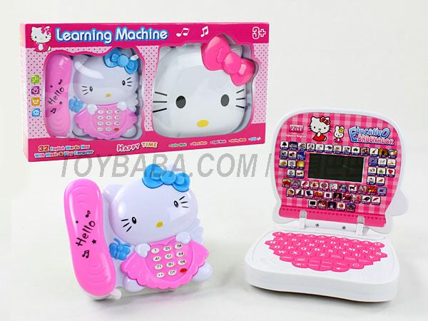 kitty猫+电话英西文学习机(带液晶)