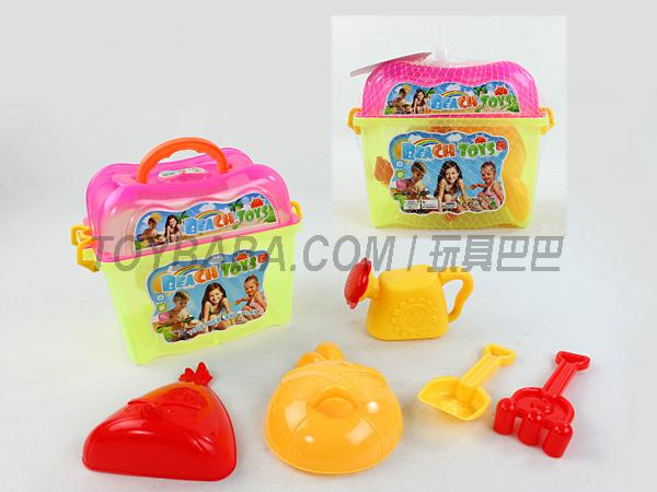6PCS沙滩玩具