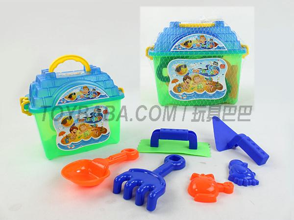 7PCS沙滩玩具