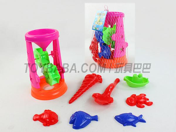 8PCS沙滩玩具