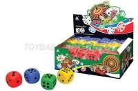1.5寸点式骰子 48个/展示盒