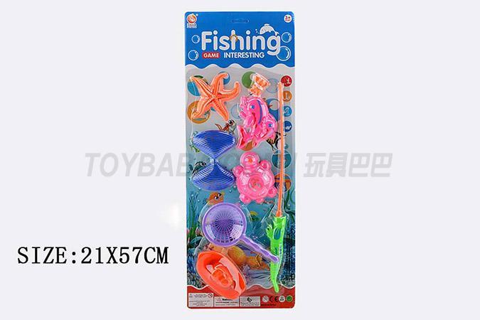 磁铁钓鱼玩具