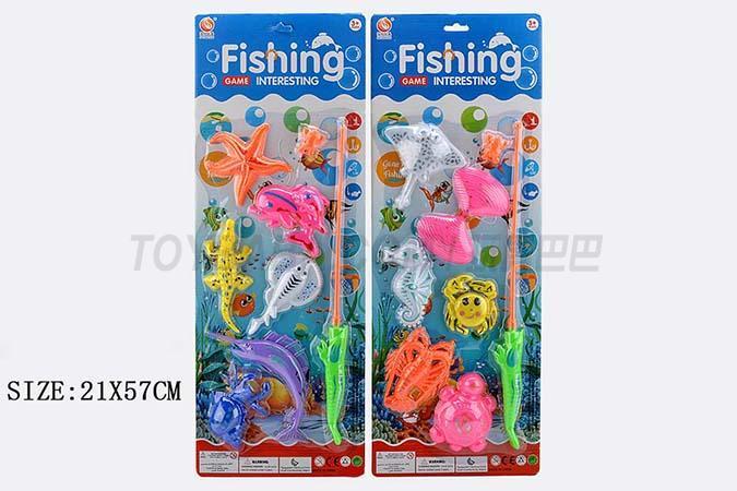 磁铁钓鱼玩具 两款混装