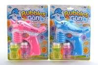 电动海豚实色泡泡枪