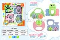 4只摇铃玩具盒庄 婴儿玩具