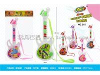 吉它6款 电子琴玩具 电动