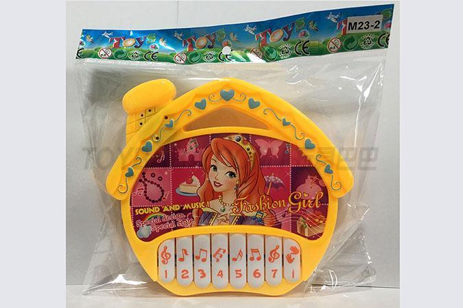 时尚公主(不侵权)房屋电子琴 儿童音乐乐器玩具 早教乐器玩具
