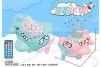 大飞机故事机 粉红、粉蓝2色混装 中文版