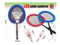 体育玩具 带LED灯大羽毛球拍