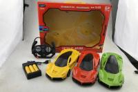 法拉利四通遥控车玩具 充电