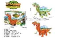 电动恐龙 下蛋恐龙(带音乐、多处七彩灯、投影、生蛋)电动动物玩具