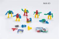 自装7款外星机器人 自装小玩具 赠品
