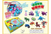 拼装盲蛋 扭蛋 赠品装糖小玩具