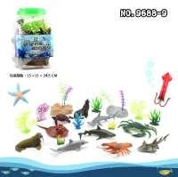 海洋 方桶装玩具