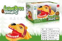 咬手指狮子玩具