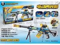电动声光枪语音枪玩具枪