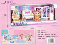 蜜雪儿公主衣柜 过家家玩具