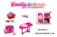 电动缝纫机熨衣板套装 过家家玩具