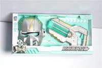 太空枪+太空剑 电动玩具 闪光套装