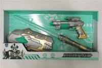 太空枪 电动枪 闪光套装