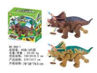 电动恐龙(带音乐七彩灯、投影、生蛋)恐龙动物模型玩具 电动玩具