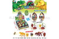 恐龙扭蛋玩具