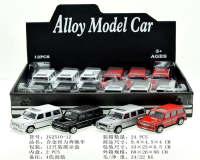 合金回力奔驰车合金车玩具车模型