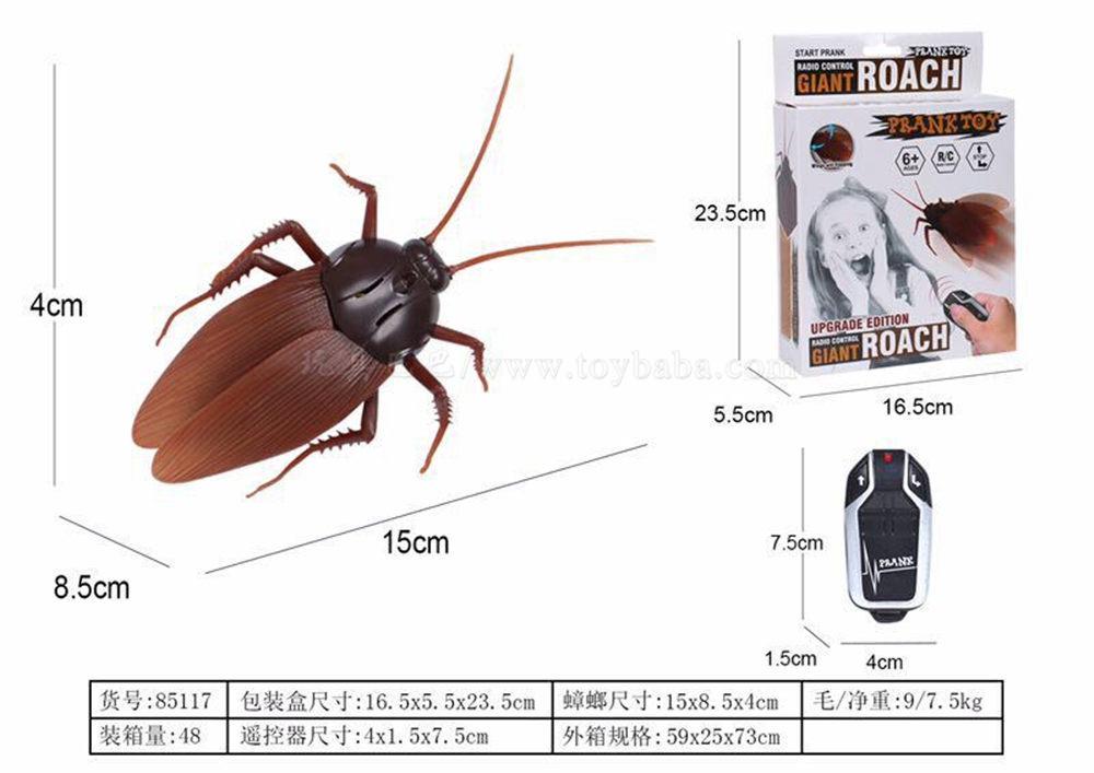 蟑螂/带遥控 遥控动物玩具