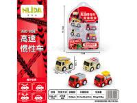 消防高速惯性车 玩具车
