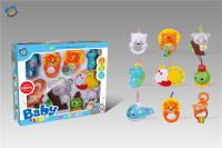 婴儿吊铃(音乐带灯光)9只装 婴儿摇铃玩具