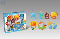 婴儿吊铃(音乐带灯光)7只装 婴儿摇铃玩具