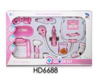 医具女款拼装13PCS 医具玩具 过家家玩具(灯光.声音.包电AG10*8)