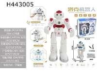 洛克感应遥控智能机器人,充电版 2色混装  红/蓝,也可单色